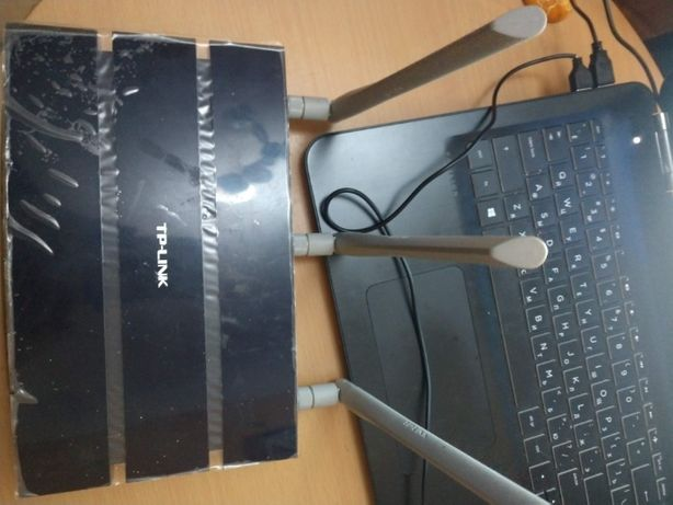 Гигабитный свитч роутер + WiFi TP-Link TL-WR1043ND модем маршрутизатор