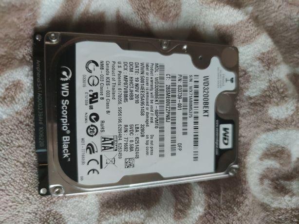 Жесткий диск Western Digital Scorpio Black 320 Гб WD3200BEKT 320 Гб