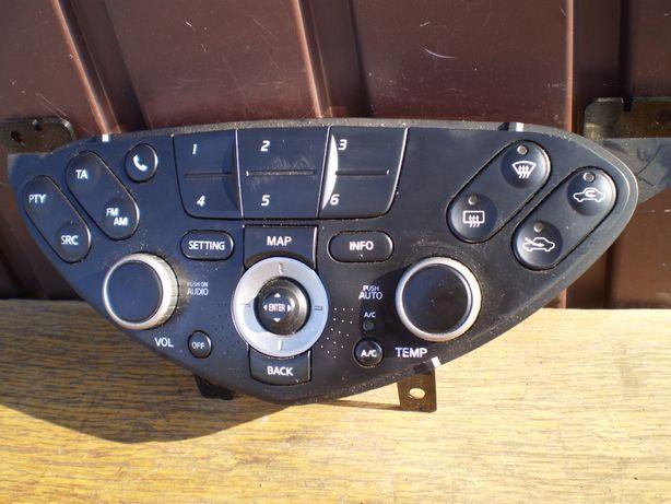 NISSAN PRIMERA P12 Panel Radia Nawiewu A/C Wyświetlacz