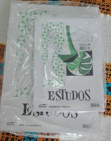 Papel Cavalinho A4 e A3 (Firmo) (24 folhas)