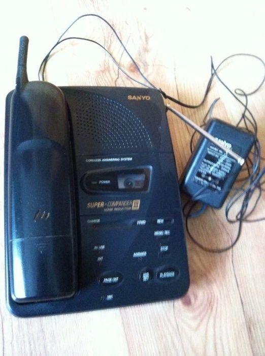 Telefon stacjonarny Sanyo z bezprzewodową słuchawką Siedlce - image 1