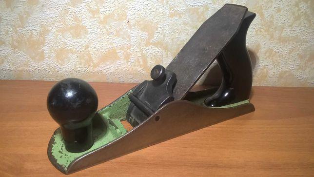 Рубанок Саратовский №4, ручной столярный инструмент СССР