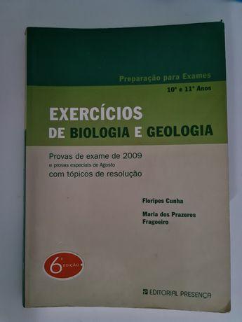 Livro de exercícios Biologia e geologia