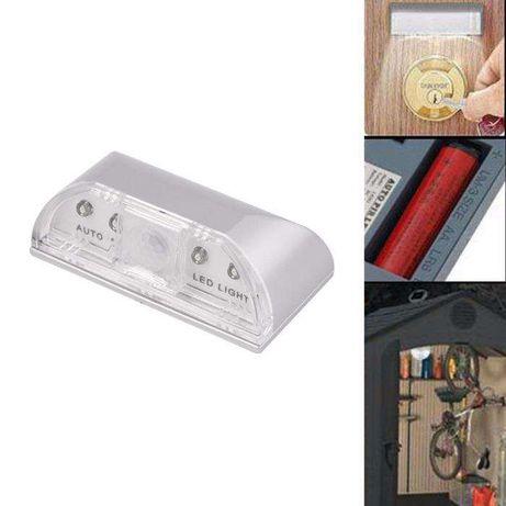 LED Sem Fio Auto Sensor Infravermelho IR Detector de movimento Lâmpada