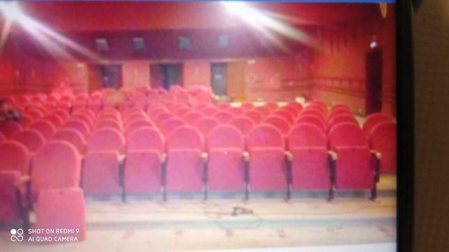 Fotele kinowe stelarz metalowy ,drewno