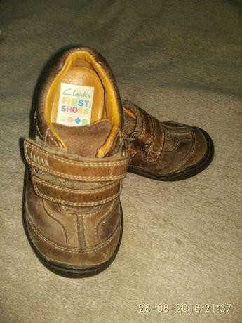 Кроссовки, туфли Clarks р.21