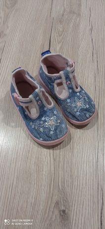 Buty kapcie sandałki 24 do przedszkola