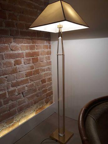 Włoska lampa podlogowa, lata 70