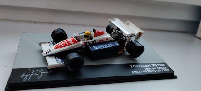 F1 Toleman Ayrton Senna Great Britain 1984 1:43