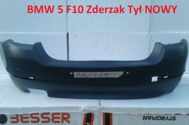 Nowy Zderzak Tył Tylny BMW 5 F10 Sedan 520d 530d Limousine Oryginał