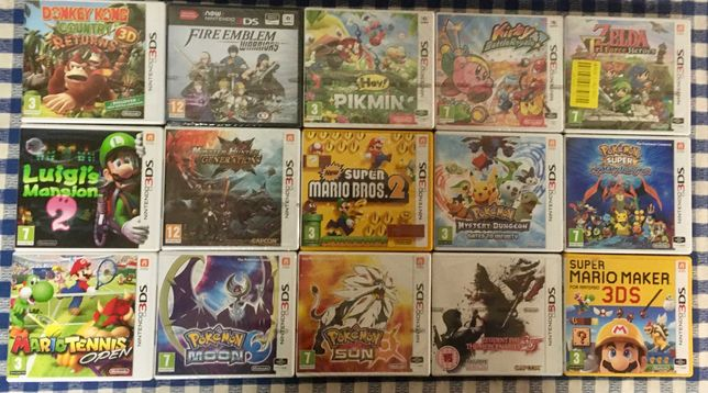 JOGOS Nintendo 3DS / 2DS / DS | Portes Grátis | Venda à unidade