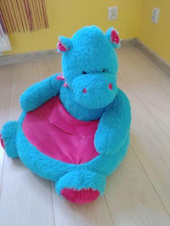 Fotelik dla dziecka hipopotam