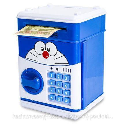 Электронный сейф копилка с кодовым замком подарок игрушка
