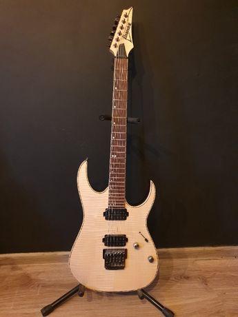 Gitara Elektryczna: Ibanez RG721FM +pokrowiec Gibson+ zestaw kabli