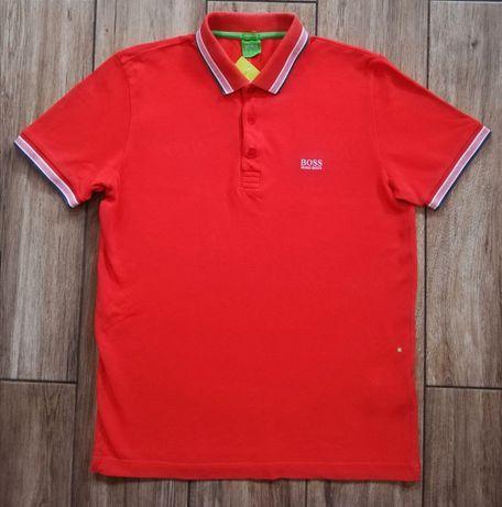 Hugo Boss oryginalny męski t-shirt polo koszulka