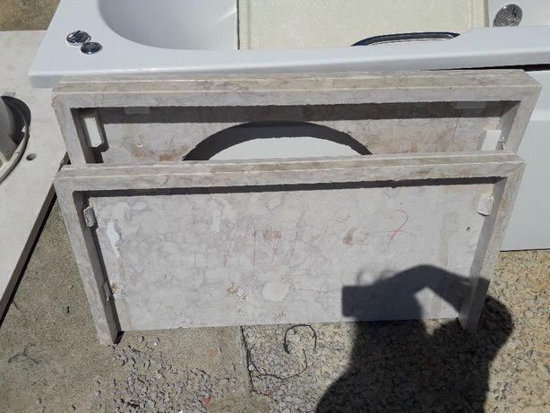 Lavatórios roca e pedra marmore