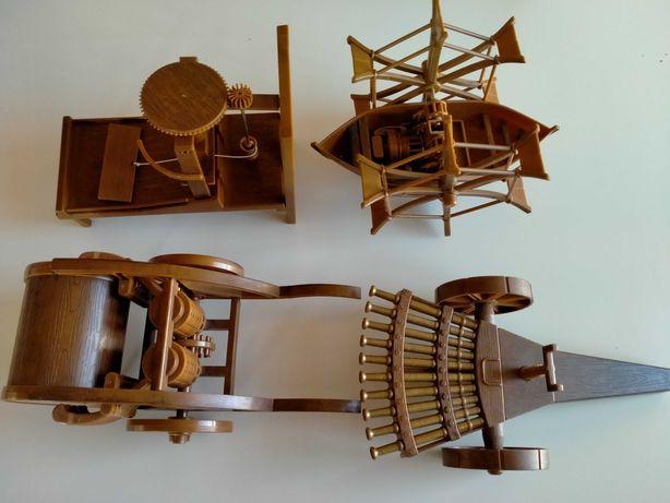 Leonardo da Vinci zestaw modeli