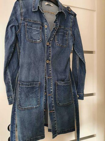 Kurtka/ sukienka jeansowa