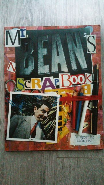 Mr Bean's Scrapbook. All about me in America. Jaś Fasola. Po angielsku
