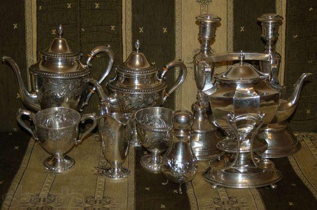 Серебрянный набор (925 проба)