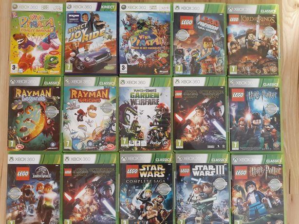 Plants of Zombie Garden Lego Przygoda Rayma Park Jurajski gry xbox 360
