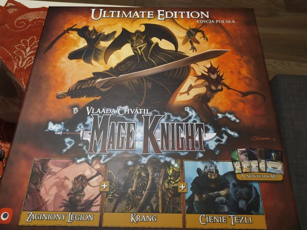 Mage Knight Ultimate Edition + Insert