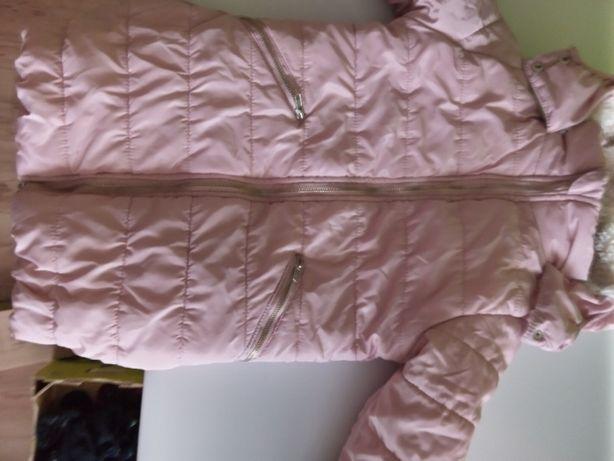 kurtka ,płaszczyk ,dziewczynka 122 cm