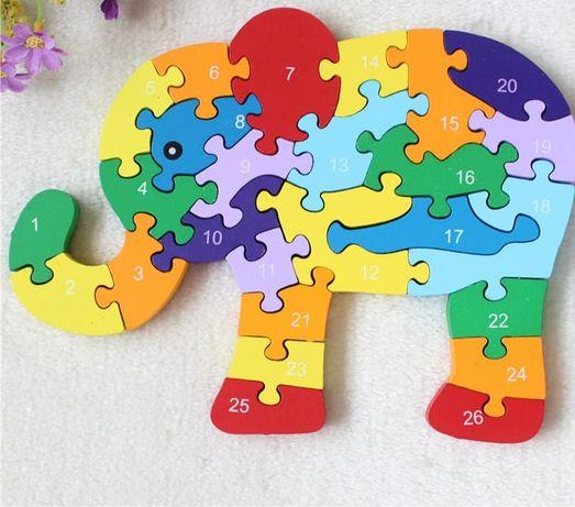Eco puzzle mega duże