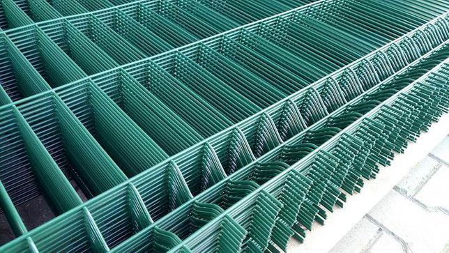 Komplet panele ogrodzeniowe fi4 h=1530mm z podmurówką