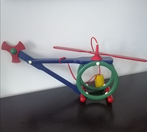 Lampa dziecięca helikopter