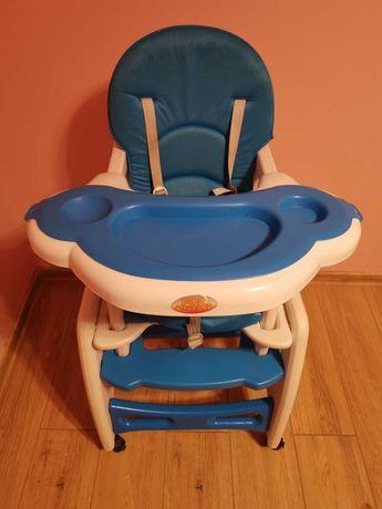 Krzesełko do karmienia dzieci 3w1