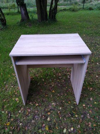 Małe biurko pod komputer, dąb sonoma WARTO!