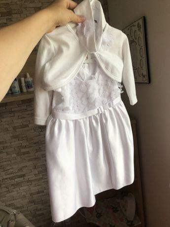COCCODRILLO ubranko do chrztu dziewczynka 68