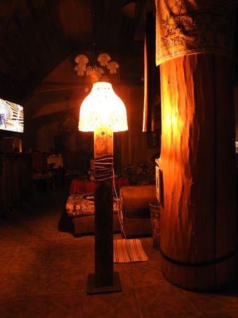 lampa stojąca- unikat.