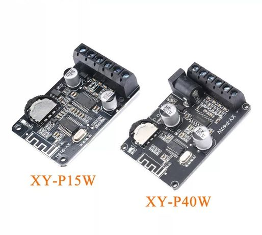 Стерео Bluetooth модуль усилитель мощности звука. 2*20, 40 W. DC8-24V