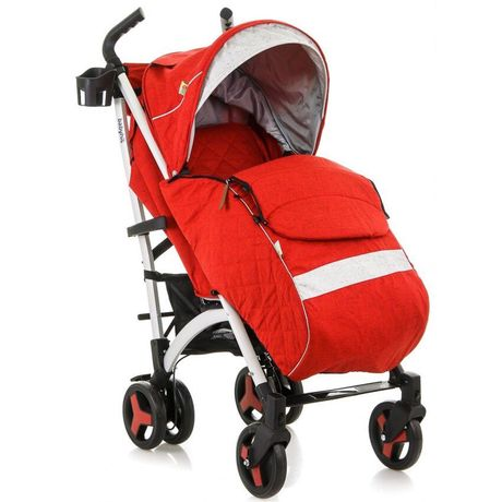 Прогулянкова коляска baby hit rainbow g2 rich red