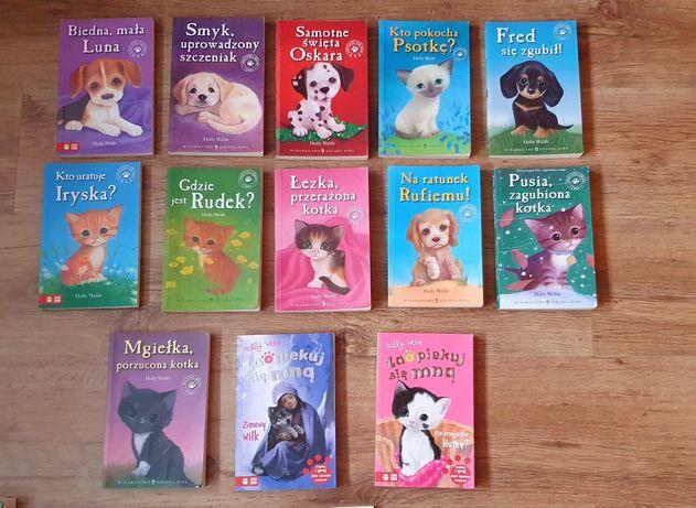 Książki HOLLY WEBB  dla dzieci 13 sz + 1 gratis!