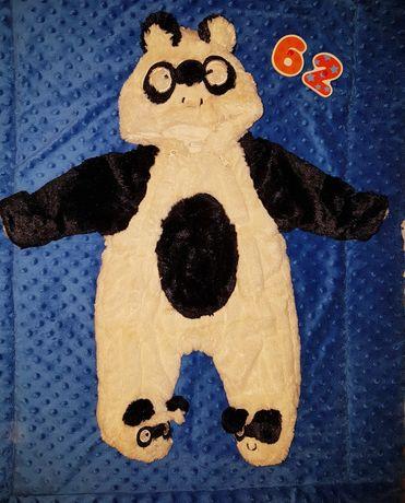 Ciepły kombinezon panda 62