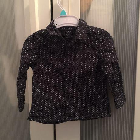 Koszula chłopięca RESERVED, z kołnierzykiem, elegancka NOWA rozmiar 74