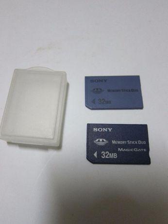 Cartão de memória 32 MB
