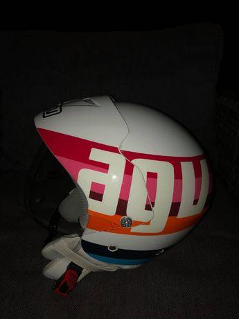 kask AGV Bali II kolorowy używany rozmiary M,L