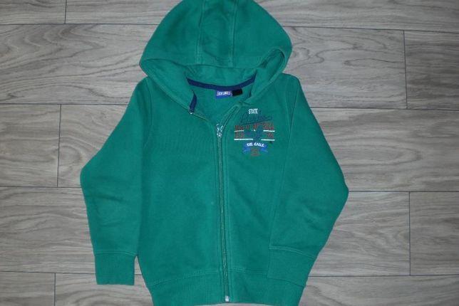 Bluza z kapturem dla chłopca 4-5 lat na 116 cm