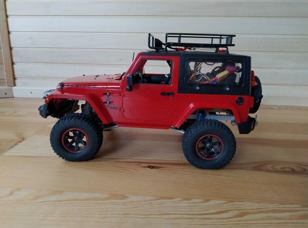 Модель Jeep Wrangler 1:10