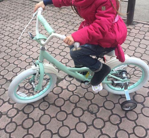 Велосипед Pride Kelly 16' мятного цвета лимитированный выпуск