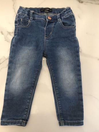 Denim co. Jeansy spodnie 86 cm