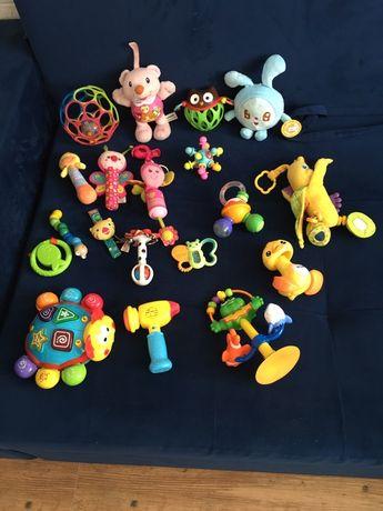 Игрушки, погремушки, мячики, грызунки
