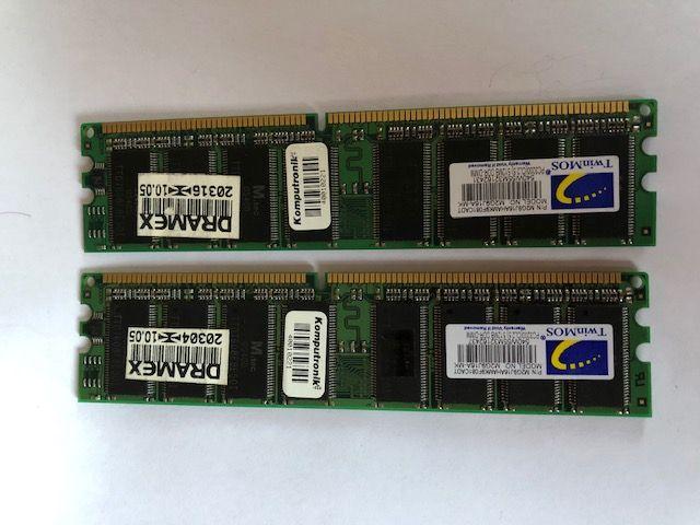 Pamięć RAM PC3200 DDR-Dimm 512MB Lądek-Zdrój - image 1