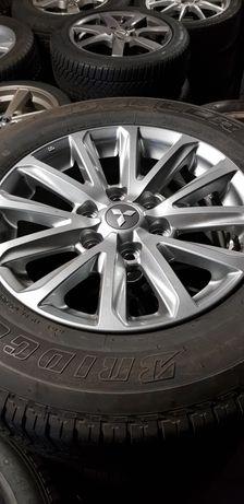 Nowe felgi alu, koła Mitsubishi Pajero 17 cali Bridgestone Całoroczne.