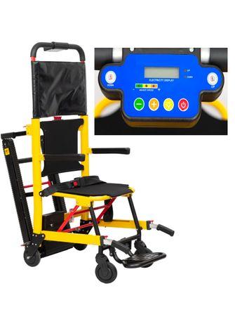 Лестничный подъемник для инвалидов MIRID ST003B. Регулировка скорости.