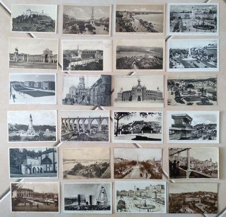 Lote de 24 postais + 10 postais do Mosteiro dos Jerónimos